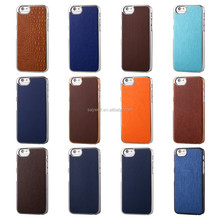 Hot selling Mobile phone shell , pu leather case for iphone 6, multi colors / patterns for choice