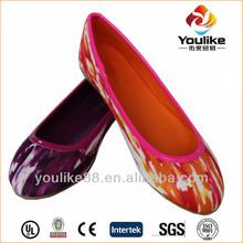 hangzhou yl6572 senhora fabricante personalizado de sapatilhas