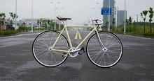 white fixie bike fixed gear bike 700C flip flop hub fixed gear bike