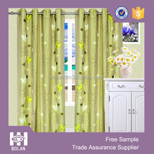 Polyester fancy window curtain, latest curtain designs, eyelets curtains