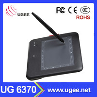 drawing tablet board UG 6370 6x4 wireless writing tablet