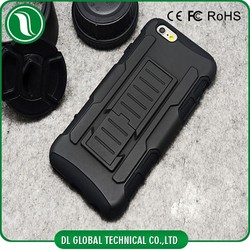 new mobile cover for iphone 6 case Hybrid heavy duty rugged Armor cover for iphone 6 case holster combo case for iphone 6