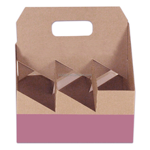 corrugated paper bottle carrier, cardboard 6 pack bottle beer carriers, beer carrier box