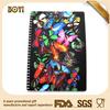 butterfly design cover notebook,3d notebook cover,creative notebook design