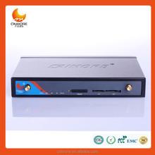 4 G do monitor móvel carro wi fi suporte VPN / VPDN / GRE 2.4 GB wireless router 4 Lan serial para RJ45 para monitor de veículo CM520-8AT