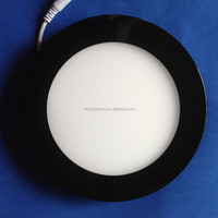 Black color LED Panel Light ,LED ceiling down light , SMD2835 Taiwan' chips hight with CE/ROHS