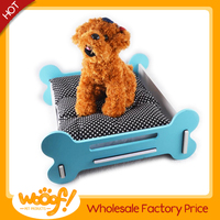 Hot selling pet dog products high quality wooden cat bed