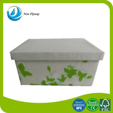 private label foldable storage box with lid