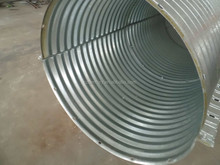 Large Diameter Corrugated Galvanized Steel Culvert Pipe/Galvanized Culvert Pipe/Metal Culvert Pipe