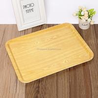 Custom plastic melamine serving tray