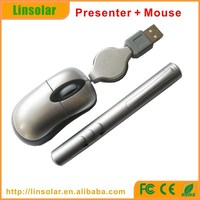 Mini Mouse remote powerpoint Laser Pointer slide changer