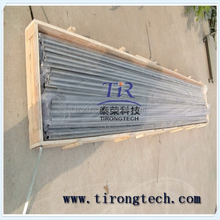 Zr1Zr2 thick 8mm length 2m Zirconium weld tube with the best quatity