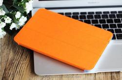 Transparent three folding tablet case for ipad mini/ ipad mini 2