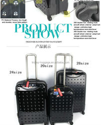 dongguan 2014 best luggage sets ABS+PC best carry-on luggage