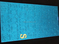 Gilitter EVA sticker, Vinyl Sticker, Metallic Tattoo Sticker, Acrylic sticker