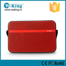 2015 W-King brand Most current Bluetooth speaker with patent design for HK fair