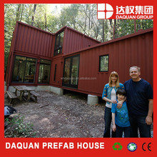 40 feet special container house wooden house for heavy mining machinery company