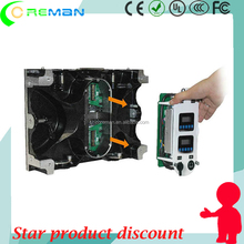 HD p1.5 p1.6 p1.8 led display screen / led cabinet two control card inside / new design cabinet led board