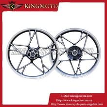 KINGMOTO 20150714 chrome rim 19 inch ZH125 motorcycle spoke wheel assembly for brazil dirt bike