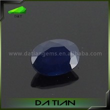 Wholesale oval cut natural blue star sapphire gems