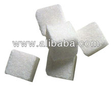 Refined white stevia sugar extract from plant