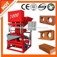 Eco Master 7000 semi automatic clay brick manufacturing plant
