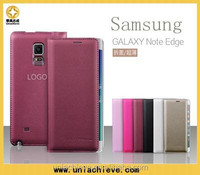 Case for Samsung Galaxy Note Edge, the genuine PU leather filp case for Samsung Galaxy Note Edge