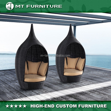 poly rattan creative outdoor garden furniture daybed with canopy