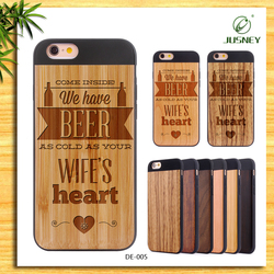 Wooden Mobile Phone Cases Manufacturers/ For Iphone Case Wood
