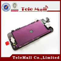 2014 wholesale display digitizer for apple iphone 5 5g mobile phone lcd