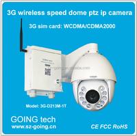 Cheap H.264 outdoor wireless 3G sim slot HD ptz ip camera