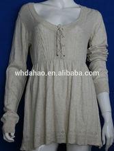 manga longa projeto novo modelo de blusa para senhoras