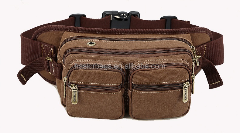 Nouvelle arrivée Durable multiples poches toile taille sac à outils