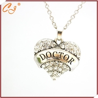 Europe and the United States foreign trade hit movie peripheral accessories The doctor who doctors heart necklace