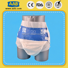 Welcomed high quality non woven weight 70g adult baby diapers