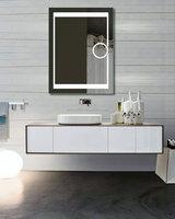 High qualtiy lighted makeup mirror walmart,bathroom mirror with led lights