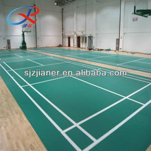 Rolls PVC Flooring Used For Badminton