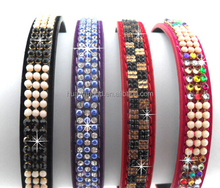 2015 hot selling luxury pearl and diamante pet collar,dog collar,pearl cat collars