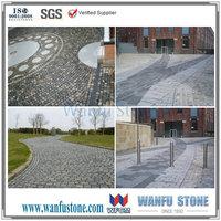 cobble paving stones bricks driveway
