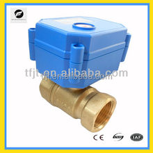 water purifier 2-way AC9-4VDC electric control valve for water filter HVAC,water treatment and Fan coil system