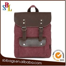 Wholesale canvas backpacks, new designed backpacks, fashion school and college bags China