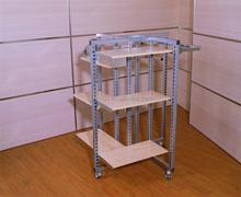 4 Way Gondola with MDF shelf