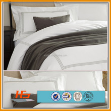 wholesale hotel white cotton fabric comforter sets /bedding sets