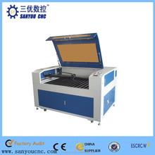 SANYOU CNC laser cutting machine price /laser cutting machine made in china 1290