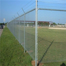 Chain Link Mesh Type and Galvanized Iron Wire Material 5x5 hole galvanized fence