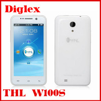 china cheap android phone thl w100s mtk6582m 1.3ghz 4.5 inch android 4.2 smartphone