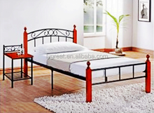 wooden kid double deck bed