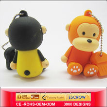 Top sell Factory price and cheapest designer cartoon character flash drive,China gift cartoon character flash drive manufacturer