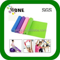 2014 Hot Sale A-B0003 Elastic Rubber Fitness Roll Yoga Band