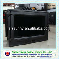 Wall Cast Iron Insert Wood / Coal Stove